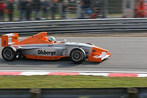 Marcus Ericsson - Ericsson won his second Formula BMW race at Brands Hatch by six seconds.