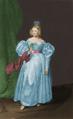 Maria II (1835) John Zephaniah Bell colorido.png