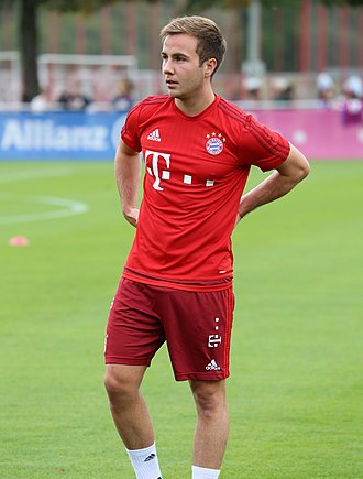 Mario Götze - Götze training with Bayern Munich in 2015