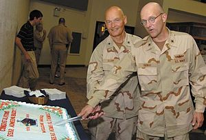 David M. Thomas Jr. - Mark Buzby hands over Joint Task Force Guantanamo to David M. Thomas.