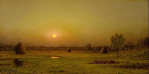 Martin Johnson Heade - Marsh Sunset, Newburyport, Massachusetts - Google Art Project