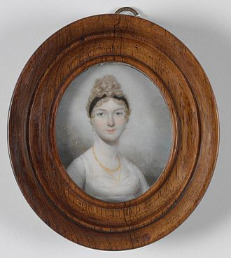 Mary Putland - Mary Bligh, circa 1803