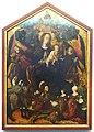 Mary as Queen of Heaven, from the chapel of Castle Prosels in Tyrol, by the Master of the Habsburgs, 1507-1508, painting on fir - Germanisches Nationalmuseum - Nuremberg, Germany - DSC03556.jpg
