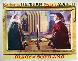 Advertentie voor Mary of Scotland