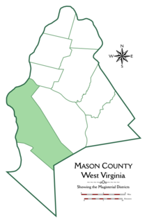 Clendenin District, Mason County, West Virginia Magisterial district in West Virginia, United States
