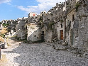 The Sassi of Matera.