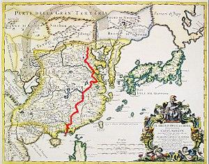 Matteo Ricci - Matteo Ricci's way from Macau to Beijing