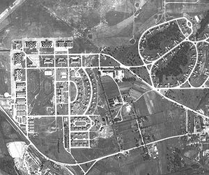 Air Corps Tactical School - Aerial view of Maxwell Field in 1937