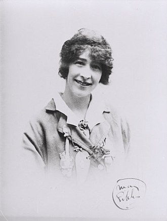 May Gibbs - 1916 photographic portrait