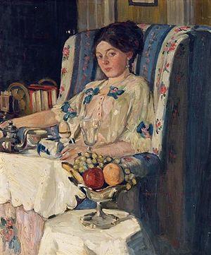 May Wilson Preston - Image: May Wilson Preston, Dejeuner, circa 1910, oil on canvas, The Barnes Foundation