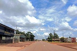 Suburb of Palmerston, the Northern Territory, Australia