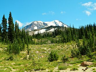 Mount Adams Wilderness - Meadows at Mount Adams Wilderness