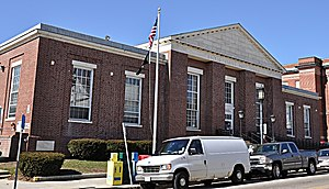 United States Post Office–Medford Main - Image: Medford MA Post Office