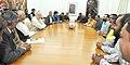 Media Persons from Chhattisgarh and Jharkhand call on the Prime Minister, Shri Narendra Modi, in New Delhi on December 02, 2015 (2).jpg