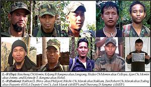 Insurgency in Meghalaya - A 2014 list of Meghalaya's most wanted militants