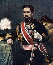 Meiji emperor color