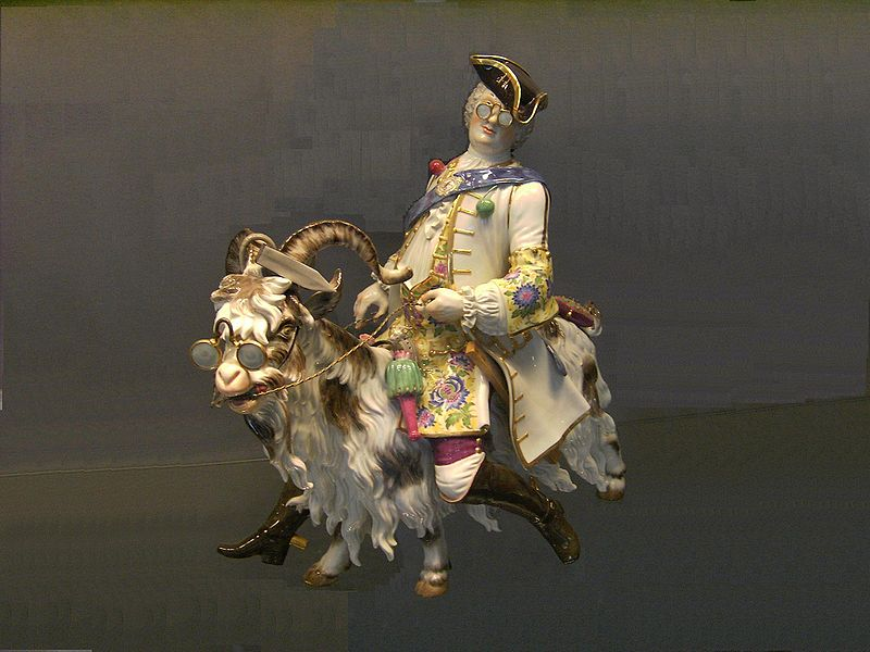 Файл:Meissen-Porcelain-Man.and.Goat.JPG