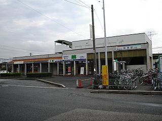 Ajiyoshi Station (Meitetsu) Railway station in Kasugai, Aichi Prefecture, Japan