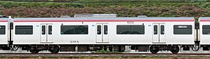 Meitetsu 1700 series - Image: Meitetsu 2300 series EMU 105