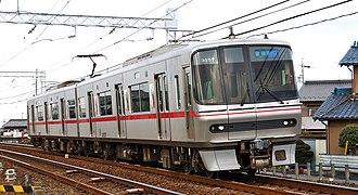 Meitetsu 3150 series - 3150 series set 3157 in December 2008