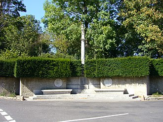 Grade II* listed war memorials in England - Image: Mells Somerset 2