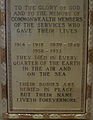Memorial Tablet, Christ Church Cathedral (Vancouver), Text.jpg