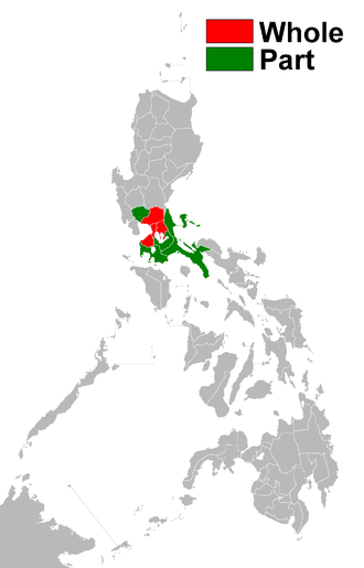 Meralco - Meralco's franchise area.