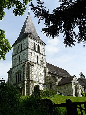 Merstham - Image: Merstham Church geograph.org.uk 1296447