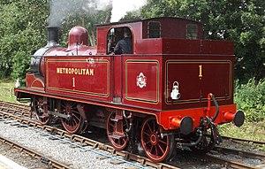 Metro-land - Metropolitan steam locomotive
