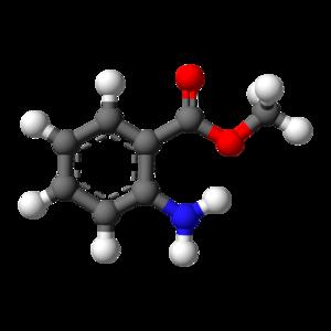 Methyl anthranilate - Image: Methyl anthranilate 3D balls