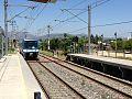 Metro ingresado a Estación El Belloto.jpg