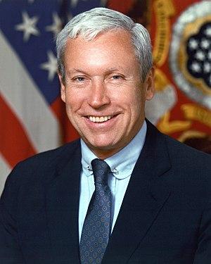 Michael P. W. Stone - Image: Michael Stone, official portrait, 1989