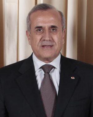 Lebanese presidential election, 2008 - Image: Michel Suleiman 2009