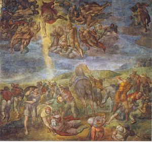 Cappella Paolina - Michelangelo, The Conversion of Saul