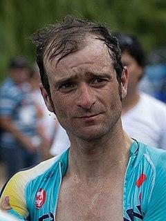 Michele Scarponi Italian road bicycle racer