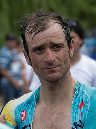 Michele Scarponi - Scarponi at the 2014 Tour de San Luis