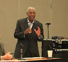 Michigan State Representative David E. Rutledge at a Town Hall Meeting.JPG