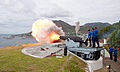 Middle North Battery Simon's Town 9 inch Gun firing 24th September 2014.jpg