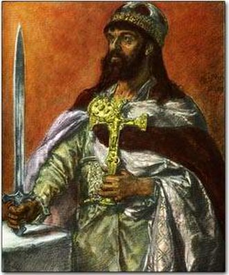 10th century - Painting of Mieszko I of Poland (by Jan Matejko).