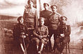 Mikhail Zhebrak with officers 1917.jpg