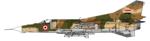 Mikoyan-Gurevich MIG-23MS Libyan Arab Republic Air Force Pre 1977 Camo Air to Air.tif