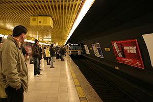 Milan Metro Line 3 - Duomo station