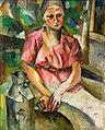 Milkwoman by Aristarkh Lentulov (1918).jpg