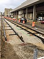 Milwaukee Streetcar track construction on St. Paul Avenue, May, 2017.jpg