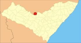 Localização de Minador do Negrão