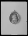 Miniatyrporträtt av konung Karl XI av Sverige (1655-1697) som barn, ca 1662 - Livrustkammaren - 36553.tif
