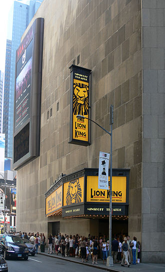 Minskoff Theatre - Minskoff Theatre, showing The Lion King, May 2007