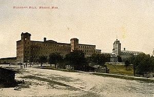 Edmund Richardson - Mississippi Mills textile plant, circa 1900.