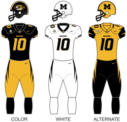 Missouri tigers football unif.png
