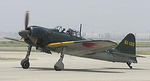 Mitsubishi A6M Zero, Chino, California.jpg